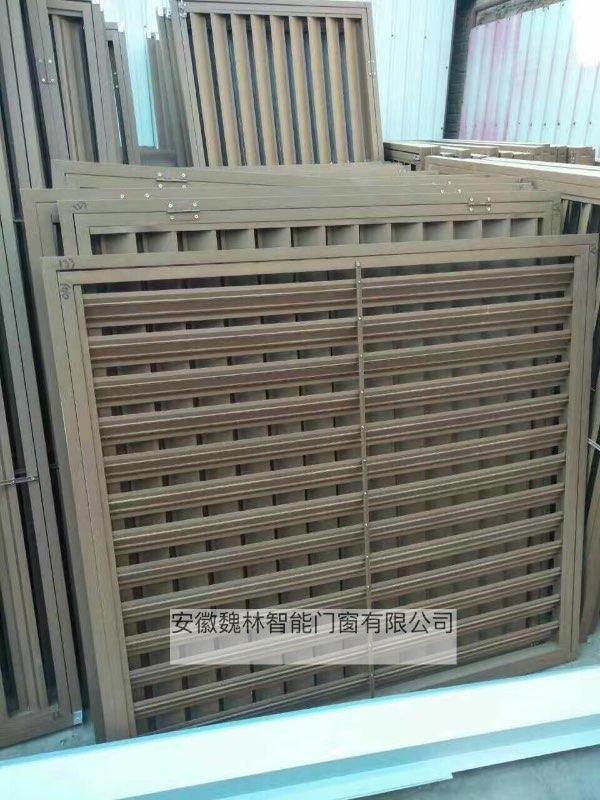 安徽桐城魏林供应定制百叶窗、钢制百叶门、配电房百叶