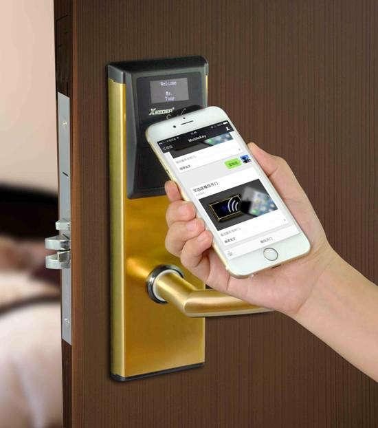 江西微信开门锁,酒店智能门锁系统