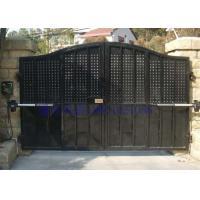 铁艺大门、封闭式铁艺大门、封闭式电动大门