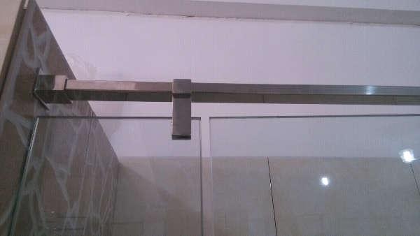 304不锈钢平开门淋浴隔断