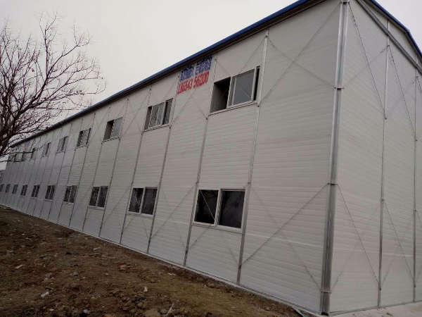 高密彩钢板房18654356200岩棉雅致房
