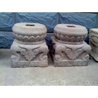 顶柱石  石柱墩  柱顶石