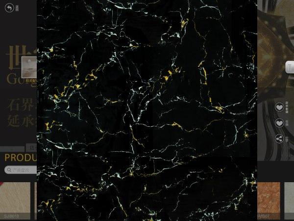 萨米特-超晶石(黑金花)