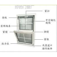铝合金塑钢提拉窗,上下提拉窗,提拉窗