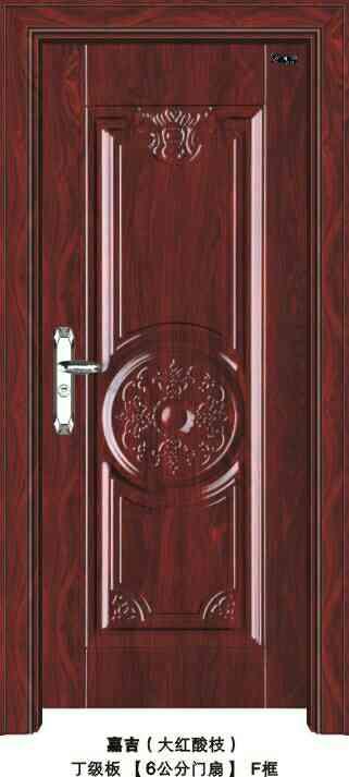 智丽电解板室内门--钢质室内门-电解板套装门-深拉伸款