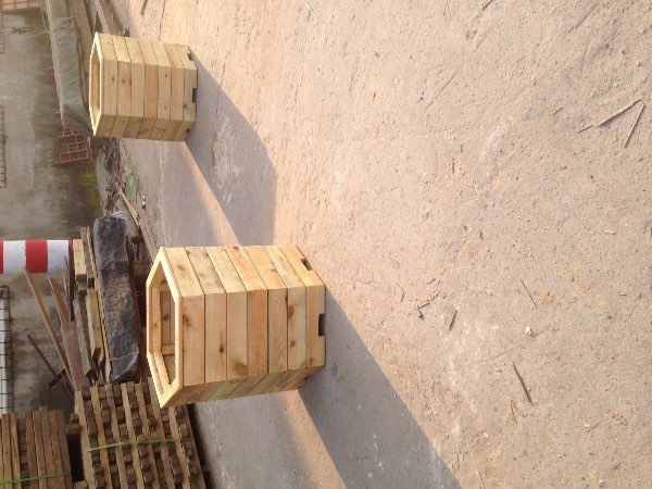 南京防腐木花池 | 防腐木木花箱 | 防腐木六边形木花箱