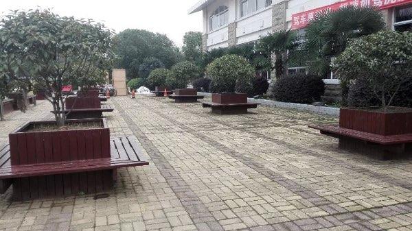 南京户外景观樟子松松木防腐木花池防腐木花箱树池