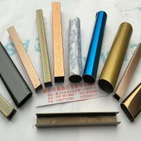 六米不锈钢彩色管图片,不锈钢镀铜管图片,不锈钢异形管图片
