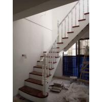 实木楼梯扶手栏杆定制